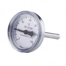 термометр 0-120C для антиконд. клап.