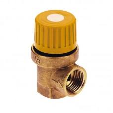 Предохранит.клапан для гелиосистемы 1/2 вв (6 бар)
