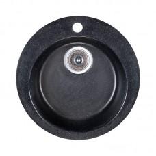 Мойка каменная кухонная Fosto D470 SGA-420 (черный)