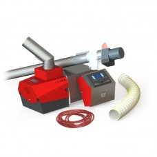 Пеллетная горелка Stehio-Prom 250 (гор., автомат., шнек 2,0 м), 250 кВт