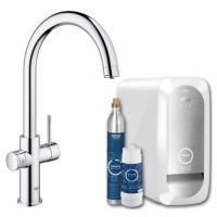 Смеситель для кухни Grohe Blue Home 31455000 с системой очистки  воды