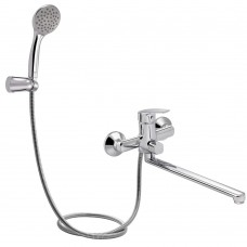Смеситель для ванны Qtap Ortiz CRM 005 New