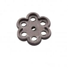 Маховик алюминиевый круглый ромашка