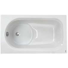 DIUNA ванна прямоугольная 120*70 см, белая, с ножками SN7