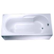 LAGUNA ванна прямоугольная 150*75 см, глубина: 42см, емкость: 115л, с ножками SN0
