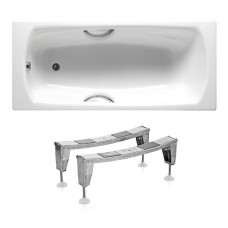 SWING ванна 180*80см, с ручками, с ножками