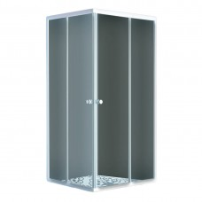AURORA  душ кабина квадратная, стекло (4мм)