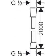 Isiflex``B Шланг душевой 2,00 м