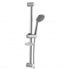 Штанга душевая L-67 см, мыльница, ручной душ 1 режим, шланг