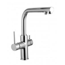Смеситель для кухни DAICY однорычажный с подключением питьевой воды.