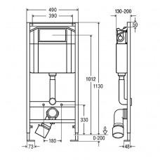 Комплект инсталляции Standart 3в1 (673192)