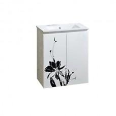 La Fleur тумба подвесная 610*465*850мм, белая