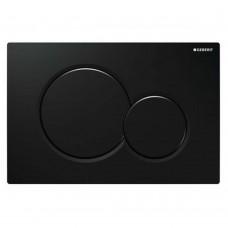 SIGMA 01 cмывная клавиша, пластик, черный RAL 9005