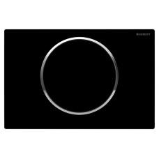 SIGMA10 смывная клавиша, пластик черный/хром глянц./черный