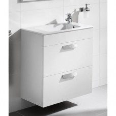 DEBBA шкафчик 60 см + умывальник,  в комплекте с сифоном, с 2-мя ящиками, белый глянец