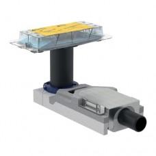 Geberit Набор для дренажных каналов CleanLine, конструкции пола высотой от 90 мм, L30см