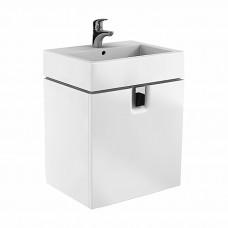 TWINS шкафчик под умывальник 60 см с одним ящиком, белый глянец