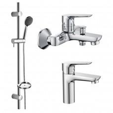Набор смесителей для ванны (3 в 1) kit20080