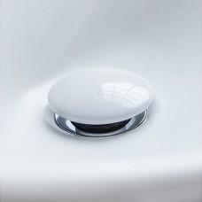 Villeroy & Boch  Донный клапан для умывальника керамический, белый