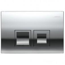Комплект: GAP Rimless подвесной унитаз с сиденьем slow-closing (в упак.), Geberit Duofix, клавиша Delta 50 хром