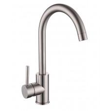 Смеситель для кухни LOTTA 55401-SS,  сталь, 35 мм