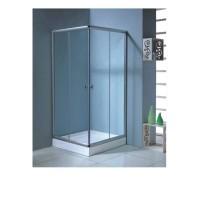 AURORA  душ кабина квадратная 90*90*1800+ Поддон мелкий  90*90 см  квадратный 15 см