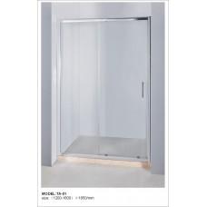 Дверь душевая в нишу KERAMAC 120*185см