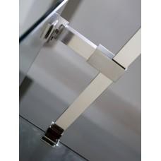 Держатель стекла с креплениямидля душевой кабины VOLLE, 100мм