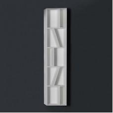 Шкаф подвесной открытый, каменный Solid surface 300*200*1450mm