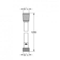 Relexaflex шланг душевой 125см