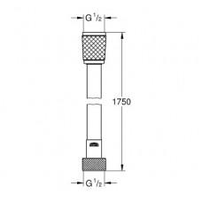 Relexaflex шланг душевой 175см