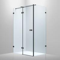 De la Noche Душевая кабина 1200*900*2000мм (стекла+двери)левая, распашная, стекло прозрачное 8мм с Nano покрытием