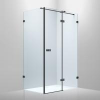 De la Noche Душевая кабина 1200*900*2000мм (стекла+двери)правая, распашная, стекло прозрачное 8мм с Nano покрытием