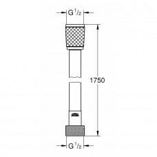 ROTAFLEX шланг для душа, 1750 мм