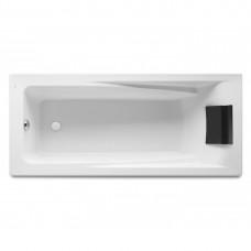 HALL ванна 170*75см, акриловая, прямоугольная, белая, с интегр. подлокотниками, с подголовником, с регулир. ножками, объем 220л