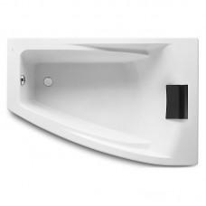 HALL ванна 150*100см, акриловая, угловая, правая версия, белая, с интегр. подлокотниками, с подголовником и регулир. ножками