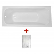 ALTEA ванна 170*70см без ножек + Полотенце махровое Volle