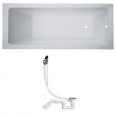 Комплект: LIBRA ванна 150*70*45,8см без ножек + SIMPLEX сифон для ванны