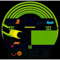 Шланг поливочный CELLFAST GREEN ATS2 3/4''25м