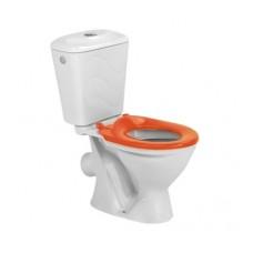 Унитаз компакт Colombo Bembi + сиденье из полипропилена (оранжевое)