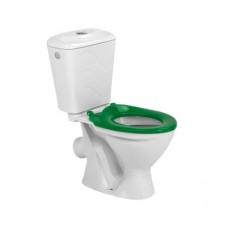 Унитаз компакт Colombo Bembi + сиденье из полипропилена (зеленое)