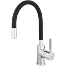 Смеситель для кухни рефлекторный FERRO ZUMBA (черный)