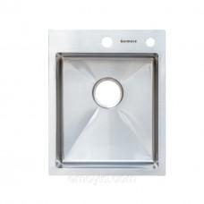 Мойка прямоугольная 400х500х230 Germece Handmade 3.0/1.2мм+отв для дозатора