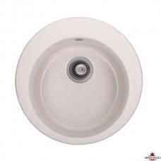 Мойка GRANADO VITORIA 506x506x210 круглая terra + сифон
