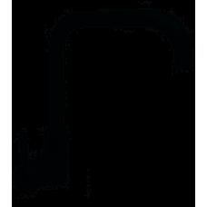Смеситель для кухни боковой HAIBA HANS черный