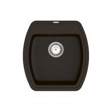 Мойка для кухни Vankor Norton NMP 01.48 Chocolat квадратная с сифоном