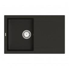 Мойка для кухни Vankor Orman OMP 02.78 Black прямоугольная с сифоном
