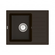 Мойка для кухни Vankor Lira LMP 02.55 Chocolate прямоугольная с сифоном