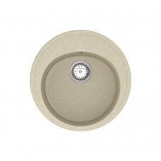 Мойка для кухни Vankor Sity SMR 01.50 Beige круглая с сифоном
