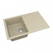 Мойка для кухни Vankor Orman OMP 02.78 Beige прямоугольная с сифоном